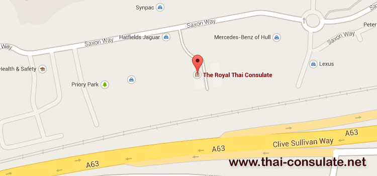 Royal Thai Consulate in Hull
