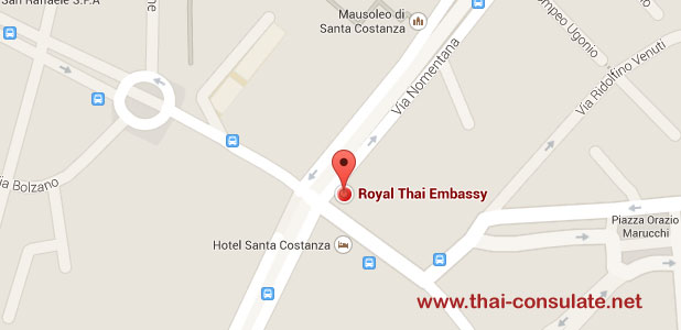 Thai Embassy in Italy