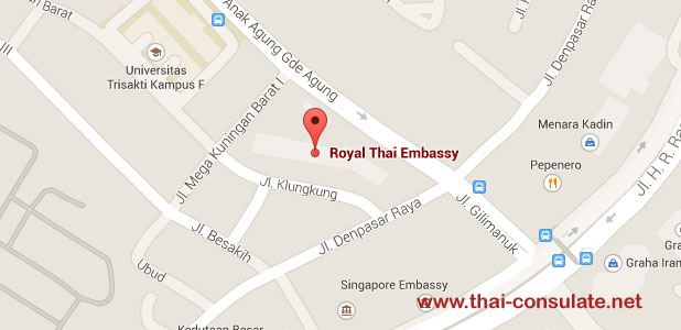 Thai Embassy Indonesia