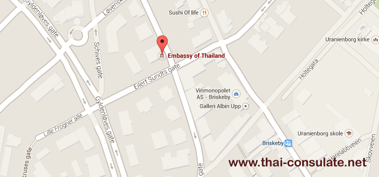 Thai Embassy in Norway