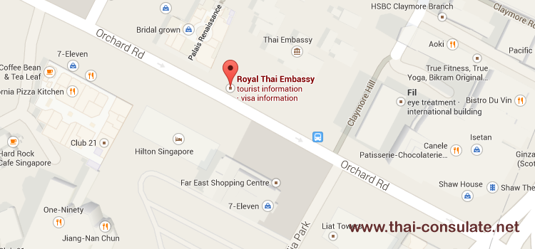 Thai Embassy in Singapore