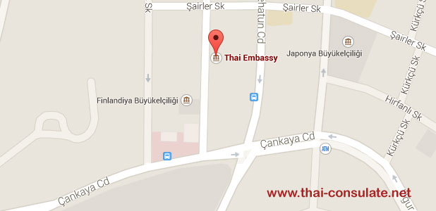 Thai Embassy in Turkey