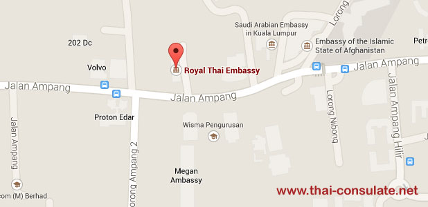 Royal Thai Embassy in Malaysia