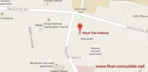 Royal Thai Embassy in Nairobi