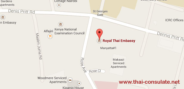 Royal Thai Embassy in Nairobi