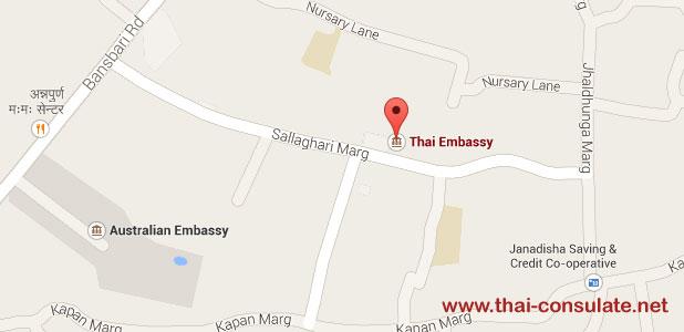 Royal Thai Embassy Kathmandu