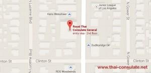 Thai Consulate in Los Angeles