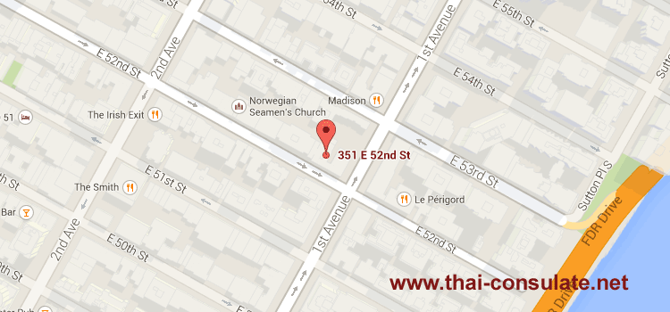 Thai Consulate NYC (New York)