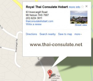 Royal Thai Consulate General Hobart