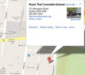 Royal Thai Consulate General Sydney