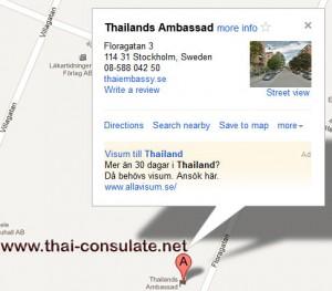 Royal Thai Embassy Sweden
