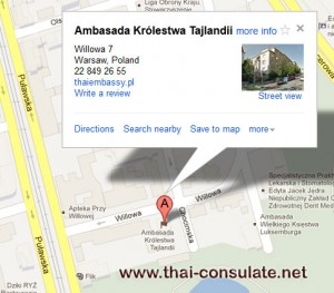 Royal Thai Embassy in Poland