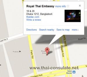 Thai Embassy in Dhaka