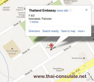 Thai Embassy in Pakistan