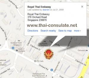 Thai Embassy in Singapore