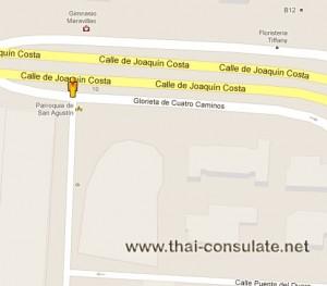 Thai Embassy in Spain