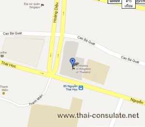 Thai Embassy in Vietnam