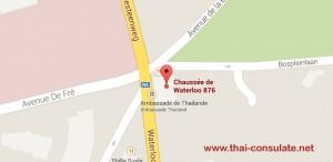 Thai Embassy in Belgium