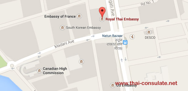 Thai Embassy in Dhaka