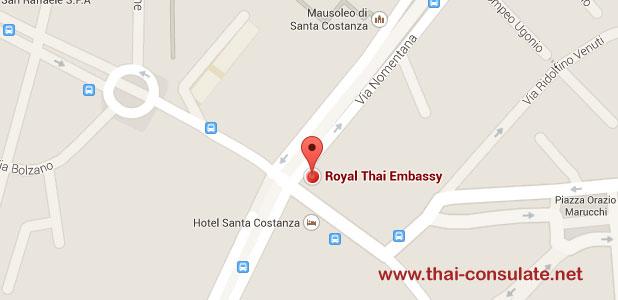 Thai Embassy in Italy
