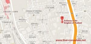 Thai Embassy in Japan