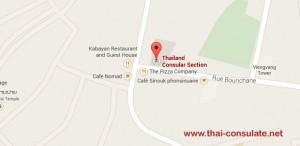 Thai Embassy in Laos