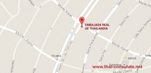 Thai Embassy in Mexico