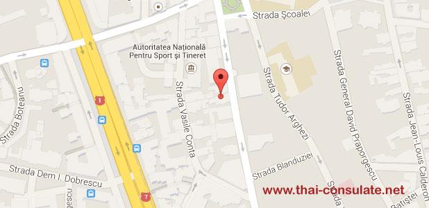 Thai Embassy in Romania