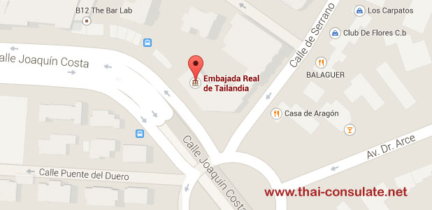 Thai Embassy in Spain
