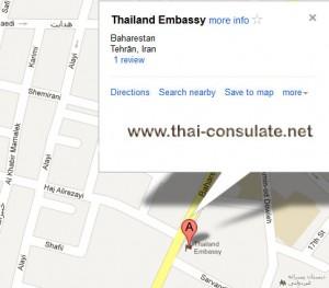 thai embassy tehran