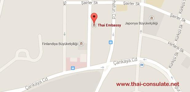 Thai Embassy in Turkey