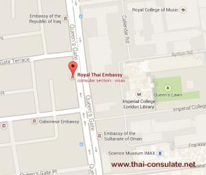 Thai Embassy in London