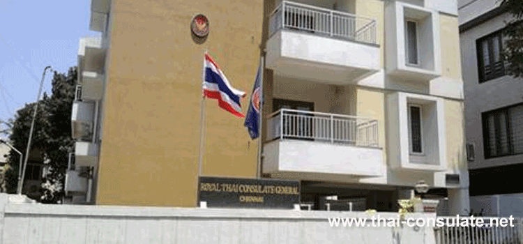 Thai Consulate in Chennai