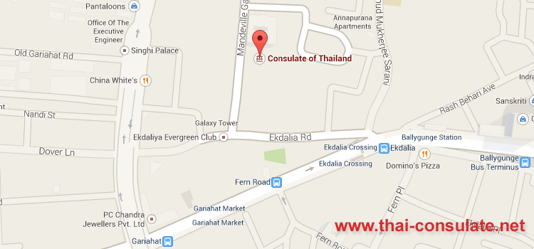 Thai Consulate in Kolkata