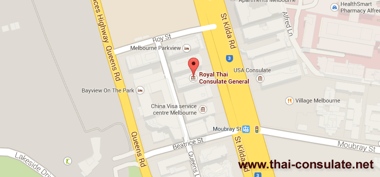 Thai Consulate in Melbourne