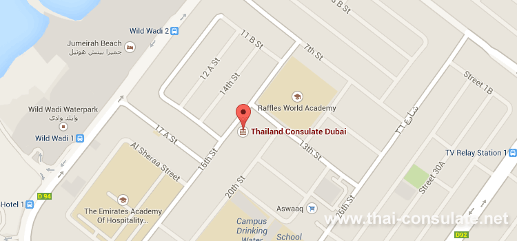 thai consulate dubai