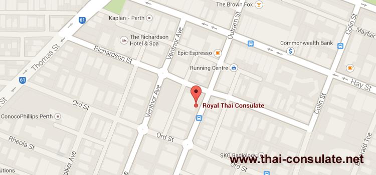 Royal Thai Consulate Perth