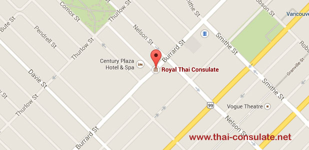 Thai Consulate in Vancouver