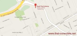 Thai Consulate in Vancouver
